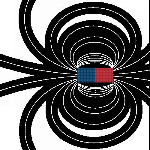 Câmpul magnetic în aer liber
